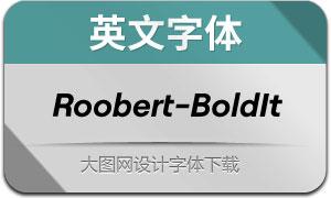 Roobert-BoldItalic(英文字体)