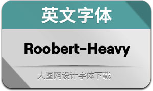 Roobert-Heavy(英文字体)