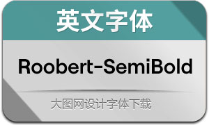 Roobert-SemiBold(英文字体)