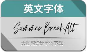 SummerBreak-Alternate(英文字体)