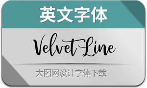 VelvetLine(英文字体)