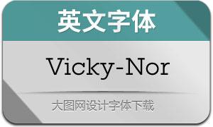 Vicky-Normal(英文字体)