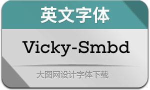 Vicky-SemiBold(英文字体)
