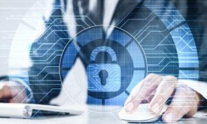 职场人物商业机密安全创意高清图片
