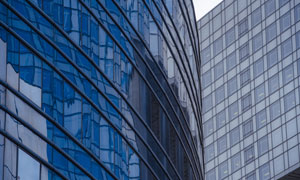 高楼林立的城市建筑物摄影高清图片