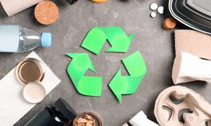 可回收利用的多種生活用品高清圖片