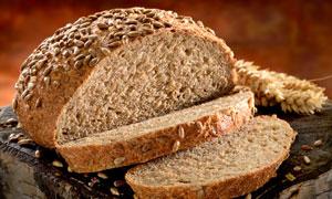 切开来的优质面包特写摄影高清图片