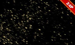 光效元素与颗粒物朦胧模糊高光背景