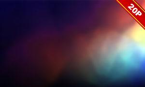 五彩繽紛漏光效果高光高清圖片集V04