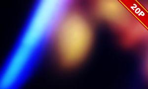 五彩繽紛漏光效果高光高清圖片集V07