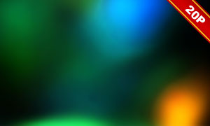 五彩缤纷漏光效果高光高清图片集V11