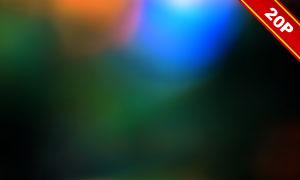 五彩缤纷漏光效果高光高清图片集V13