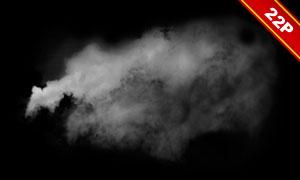 白色的烟雾等后期合成适用高清图片