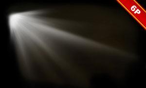 耀眼的光源光線等元素高光適用圖片