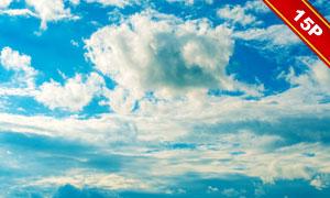 天空中的云彩主題高光適用高清圖片
