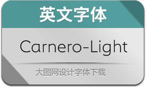 Carnero-Light(英文字体)