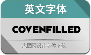 CovenFilled(英文字体)
