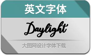 Daylight(英文字体)