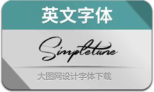 Simpletune(英文字体)