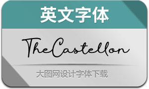 TheCastellon(英文字体)