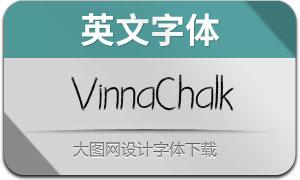 VinnaChalk(粉笔效果英文字体)