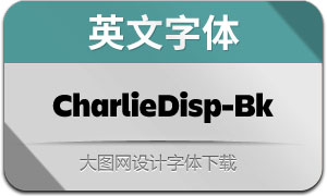 CharlieDisplay-Black(英文字体)