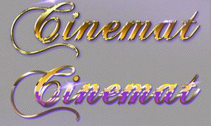 金屬主題電影藝術字設計PS樣式
