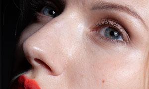 美女人像磨皮修图适用摄影原片素材