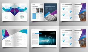 低多边形元素画册排版设计og视讯娱乐城