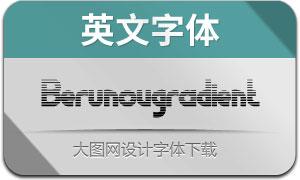 Berunovgradient(英文字體)