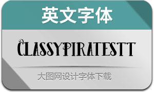 ClassyPiratesTT(英文字体)