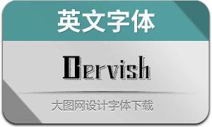 Dervish(英文字體)