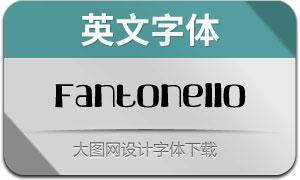 Fantonello(英文字體)