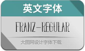 Franz-Regular(英文字體)