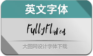 FullyFlared-Regular(英文字体)