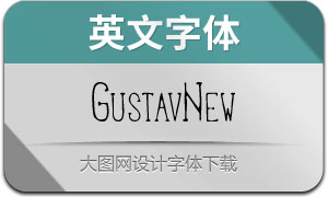 GustavNew-Regular(英文字体)