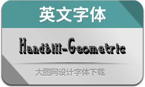 Handbill-Geometric(英文字体)