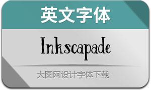 Inkscapade-Regular(英文字體)