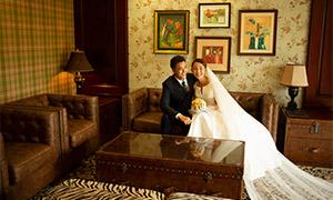 房间装?#20301;?#20869;景婚纱照摄影原片素材