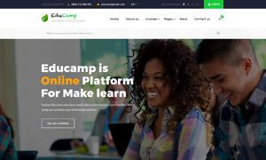 黑綠配色網站頁面設計分層模板素材