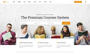 教育與培訓課等類型網站模板源文件