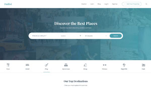 生活分类信息平台网站设计分层模板