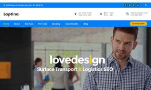 應用廣泛的網站布局設計模板源文件