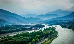 四川都江堰青城山景觀攝影圖片