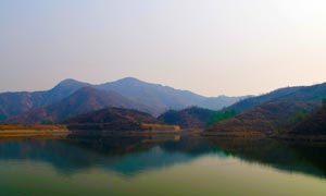 紅崖谷景區美麗山水風光攝影圖片