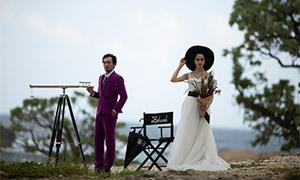 婚纱写真摄影人物高清摄影原片素材