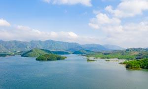 安徽卢湖自然风光高清摄影图片
