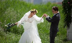 花草外景风光人物婚纱摄影高清原片