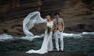 山石海景风光人物婚纱摄影高清原片