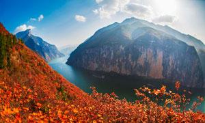 瞿塘峡三峡风景区高清摄影图片